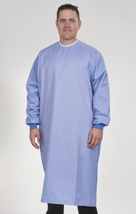 Man In Medical Gown