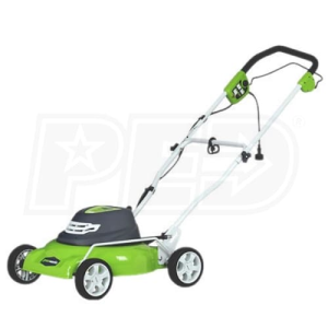 "Greenworks (18"") 12-Amp Electric 2-In-1 Lawn Mower"