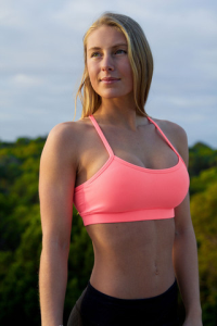 Shirtless VX Active Bra - Tropical