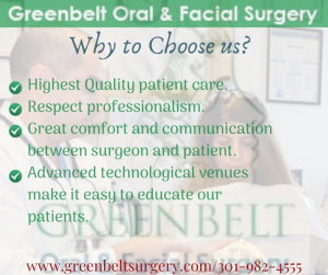 Dentists Greenbelt MD- Greenbelt Oral & Facial Surgery