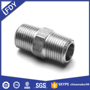 Malleable Iron Fitting-HEX NIPPLE