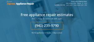 Denton Express Appliance Repair-(940) 239-9790