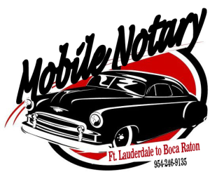 Logo Mobile Notary Fort Lauderdale to Boca Raton