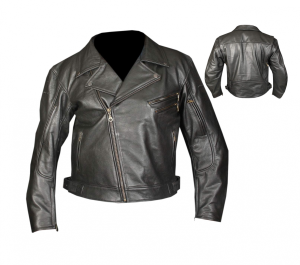 Vintage Motorcycle Jackets-Motorcycle Leather Jacket