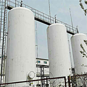 Vertical H2 Storage Tank, 16MnR, 50 m3, GB150