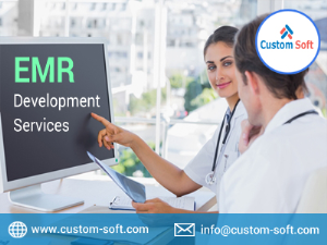 EMR Development Services India by CustomSoft