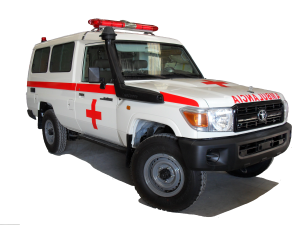 Toyota Land Cruiser Hardtop Ambulance