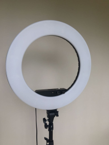 Glam Studio LED Ring Light - Black