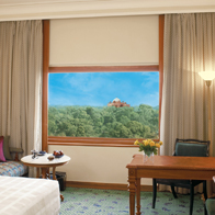 Oberoi Hotel deleux room in new delhi