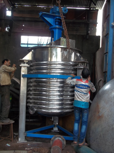 Limpet Coil Jacketed Reactor