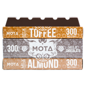 MOTA - Milk Chocolate Bar (300MG)