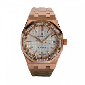 Shop Audemars Piguet Royal Oak Rose Gold 37MM Watch Dubai