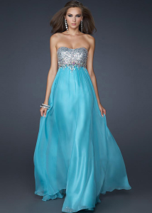 Cheap  Long Prom Dress