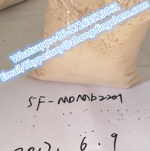 top quality 5f-mdmb2201 5f-MDMB-2201 CAS NO.1715016-76-4 reasonable price, high purity, powder