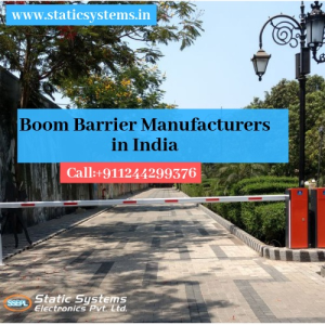 boom barrier manufacturer