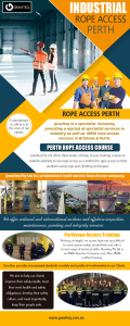Industrial Rope Access In Perth