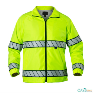 Lime Green Reflective Law Enforcers Jackets