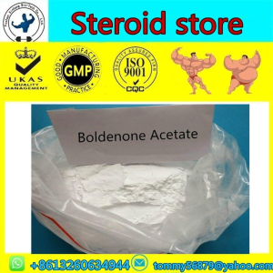 Boldenone Acetate steroid powder for gym equipments with safe delivery