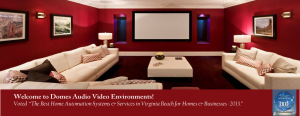 Domes Audio Video Environments