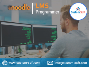 Moodle LMS Programmer CustomSoft India