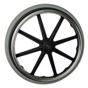 wheelchair rim and tires
