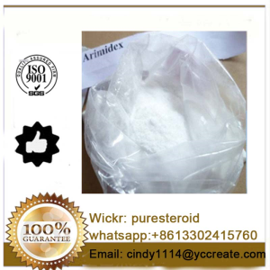Top Quality Steroid Powder Anastrozole Arimidex for Anti Estrogen