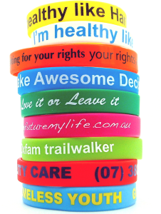 Customised Printed Wristbands