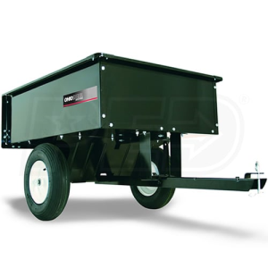 Ohio Steel 8 Cubic Foot Steel Dump Cart