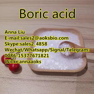 Cas11113-50-1,11113 50 1,boric acid powder,boric acid manufacturer,sales2@aoksbio.com,Whatsapp/Signa