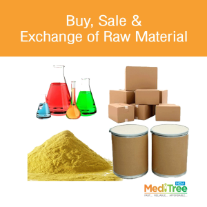 Buy, Sale & Exchange of Raw Material : Meditree India