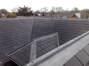 Slate roof repairs,zinc repairs,Edinburgh Roofers
