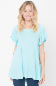 Buy Now Butterfly Sleeve Tunic Online @caralase.com