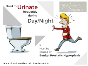 Enlarged prostate treatment