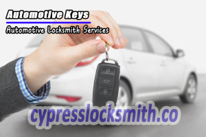 Cypress Automotive Locksmith Services