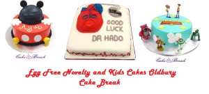 novelty and kids cakes