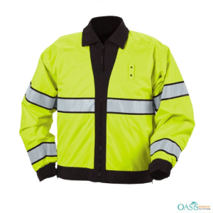 Hi-Vis Electric Lime Jackets