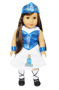 Special Irish Girl outfit for American Girl Dolls