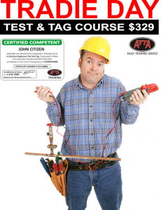 test and tagging courses