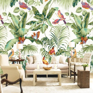 Jass London Paradise Garden Mural Wallpaper
