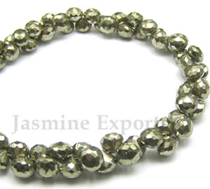 Wholesale Pyrite Gemstone Beads