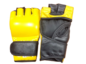 MMA Gloves made by cowhide leather