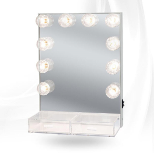 Hollywood Crystal Vanity Mirror With Drawers