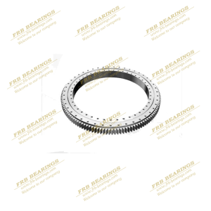 Bottling machine slewing ring