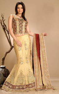 Beige Lehega Choli at online shopping india