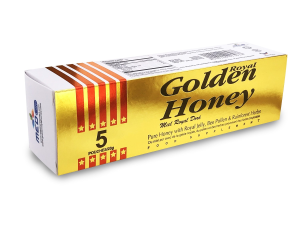 BUY GOLDEN ROYAL HONEY VIP -10g Sachets X 5 Count