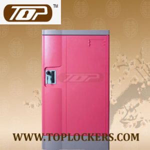 Triple Tier Plastic Gym Locker, Multiple Locking Options