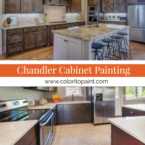 Chandler Cabinet Painting