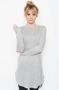 Buy Now Terry Long Sleeve Tunic Online @caralase.com