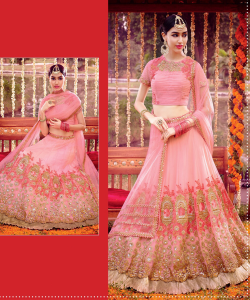 Baby Pink Lehega Choli - online shopping india