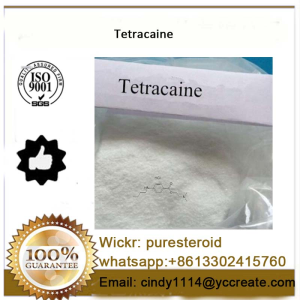 Pain Killer White Crystalline Powder Tetracaine whatsapp +8613302415760
